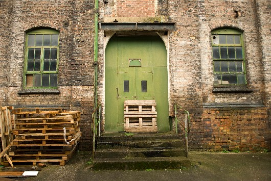 The exterior of Emma Bridgewater's Stoke-on-Trent pottery factory