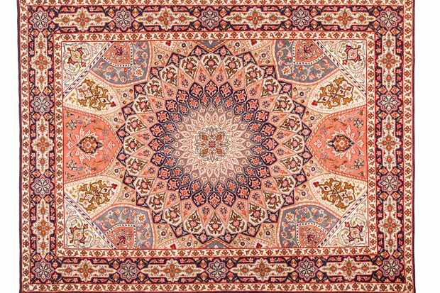 Asian Carpet Texture. Classic Arabic Pattern