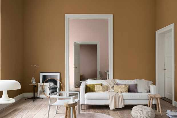 DULUX announces Colour of the Year 2019 - Spiced Honey - DREAM PALETTE 6