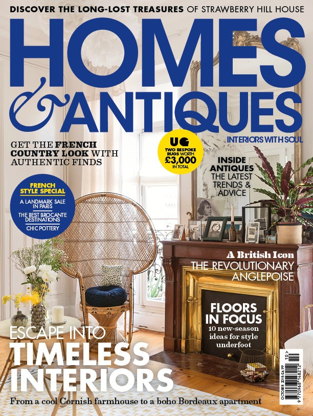 magazine issues homes and antiques