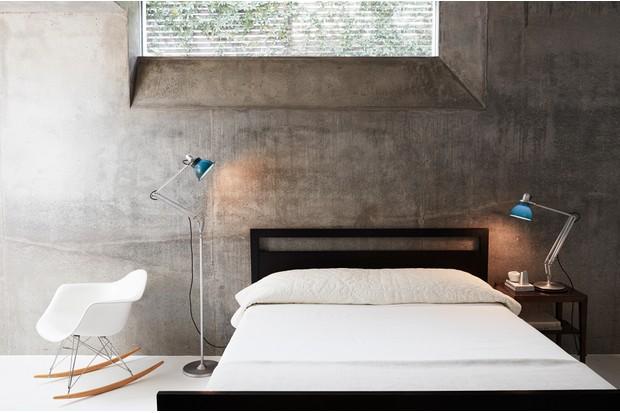4. Type 1228 Desk Lamp and Floor Lamp Ocean Blue