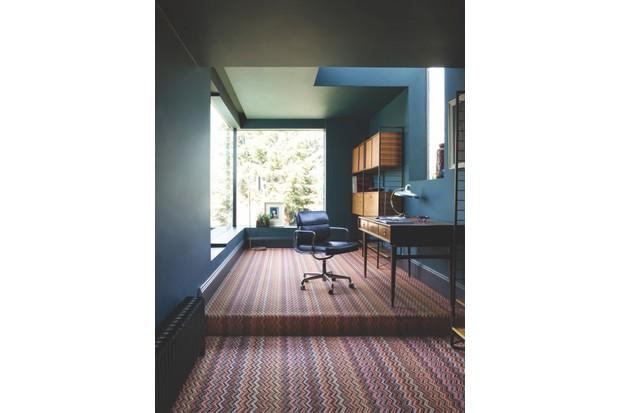 Ruby wool carpet, £157 per sq m, Crucial Trading.