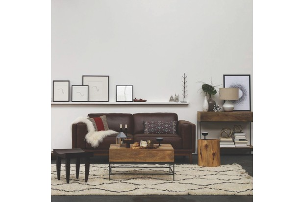 Souk 100 per cent wool rug, from 91cm by 152cm, £199, West Elm.