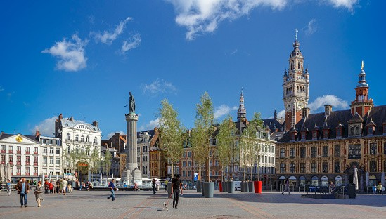 Once a year, Lille's Flemish streets are taken over by a vast flea market.