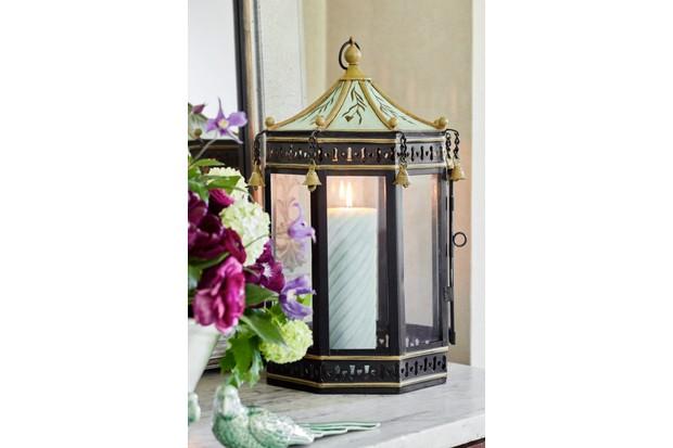 Nash metal lantern, £195, Sophie Conran.