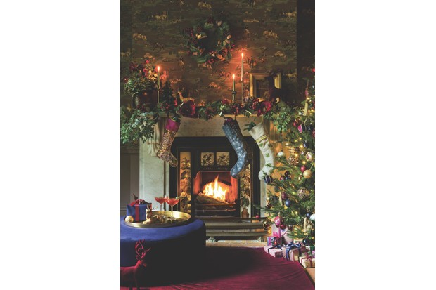 Channel the drama and decadence of a Victorian Christmas celebration when recreating this look from Amara. Baubles and stockings in jewel tones as well as rich velvets create an opulent feel.