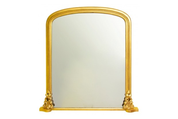The Old Cinema Gilt Victorian Overmantle Mirror