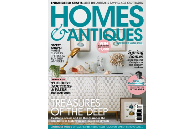 Homes & Antiques magazine April 2019 issue