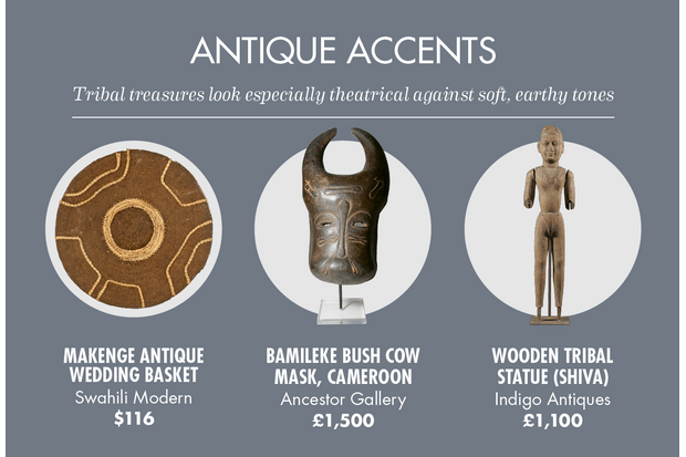 An array of tribal antiques