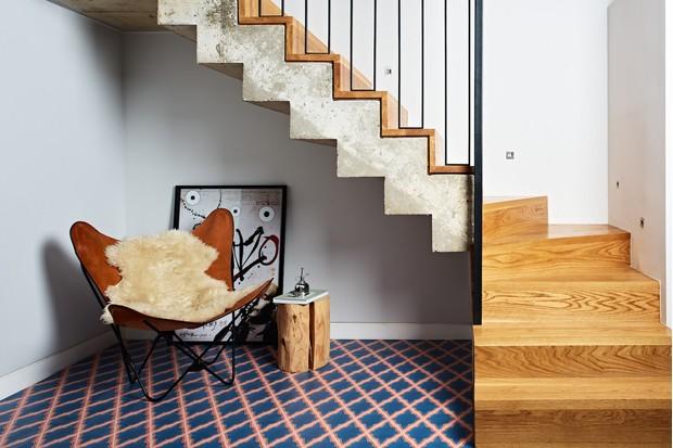 Updated encaustic tiles