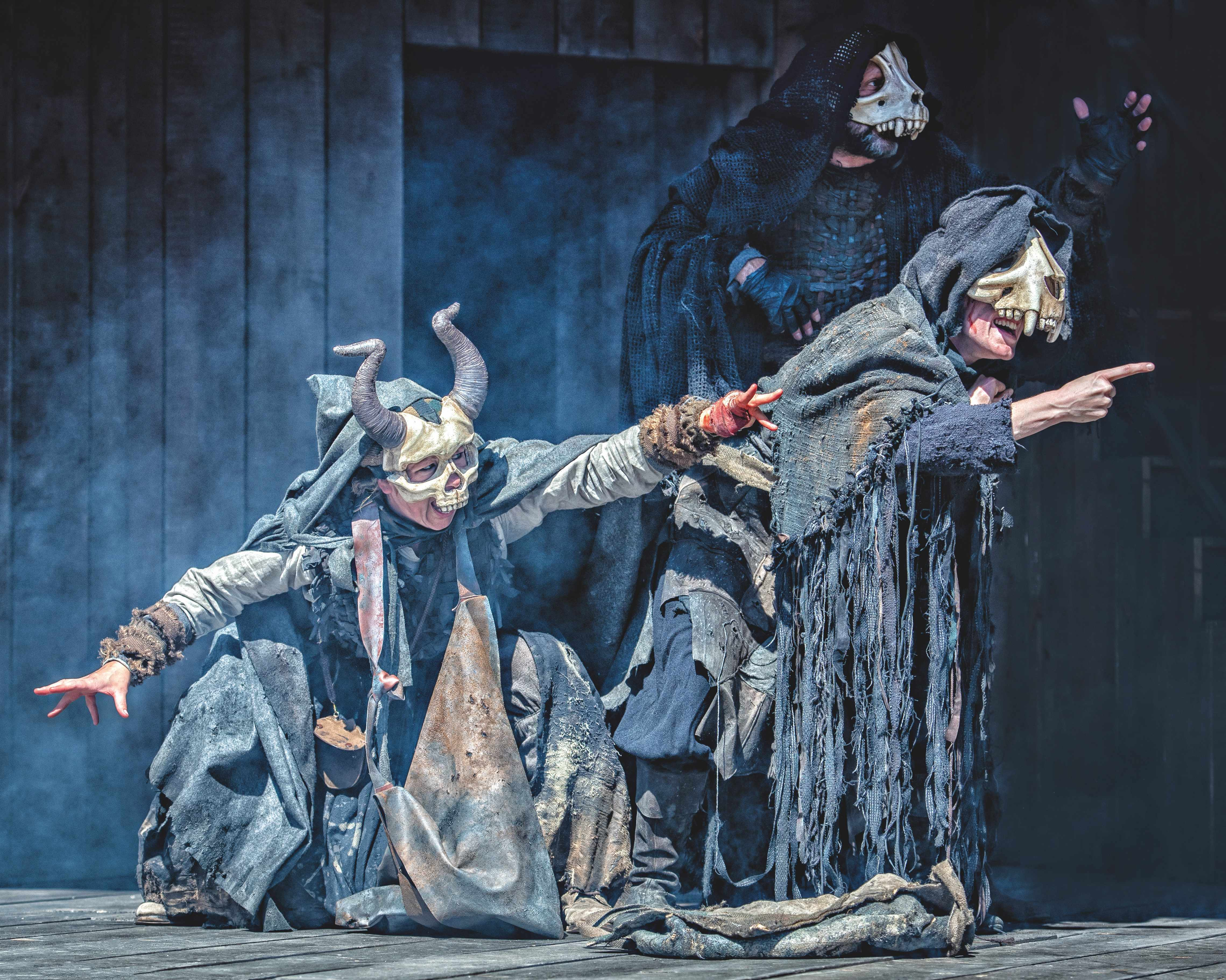 A production of Macbeth at Blenheim Palace