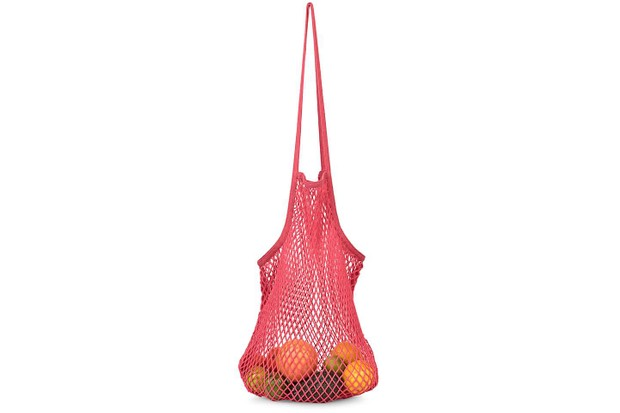 Niki Pink Net Shopper Bag