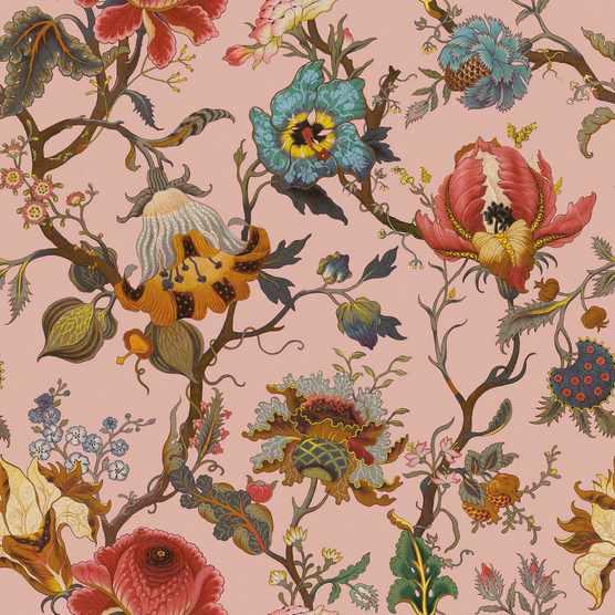 House of Hackney Artemis Blush Pink Wallpaper
