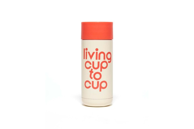 Stainless steel travel cup - living cup to cup