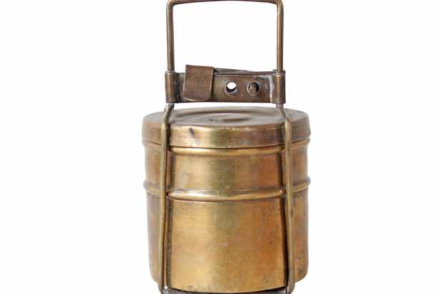 Small Brass Tiffin Box Set