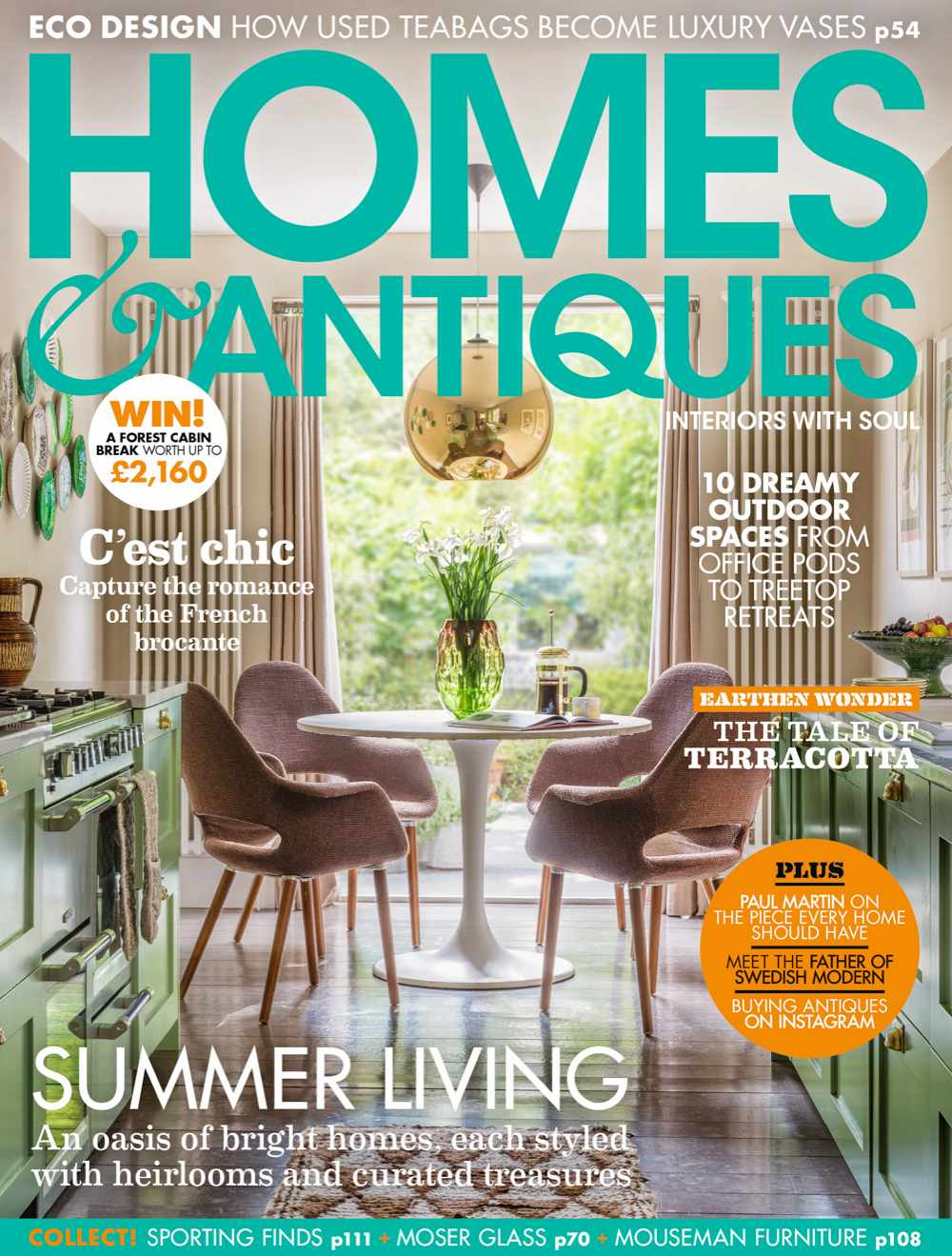 Homes & Antiques magazine August 2019 issue