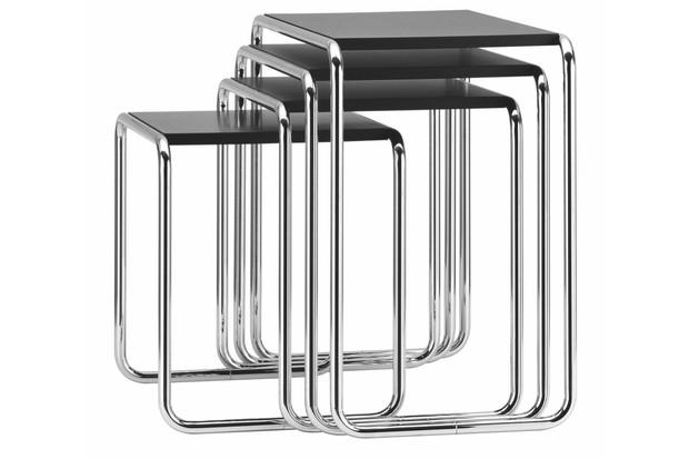 Marcel Breuer B9 tables for Thonet from Skandium