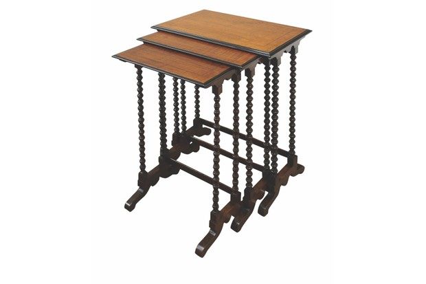 Nesting tables from Georgian Antiques