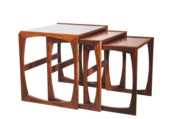 G-Plan nest of tables, £125, JK Baynham.