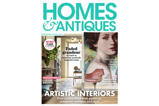 Homes & Antiques magazine - The Art Issue 2019