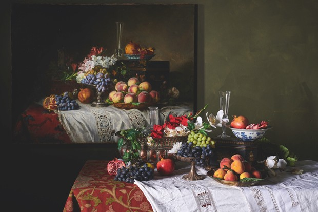 19th century still life recreation
