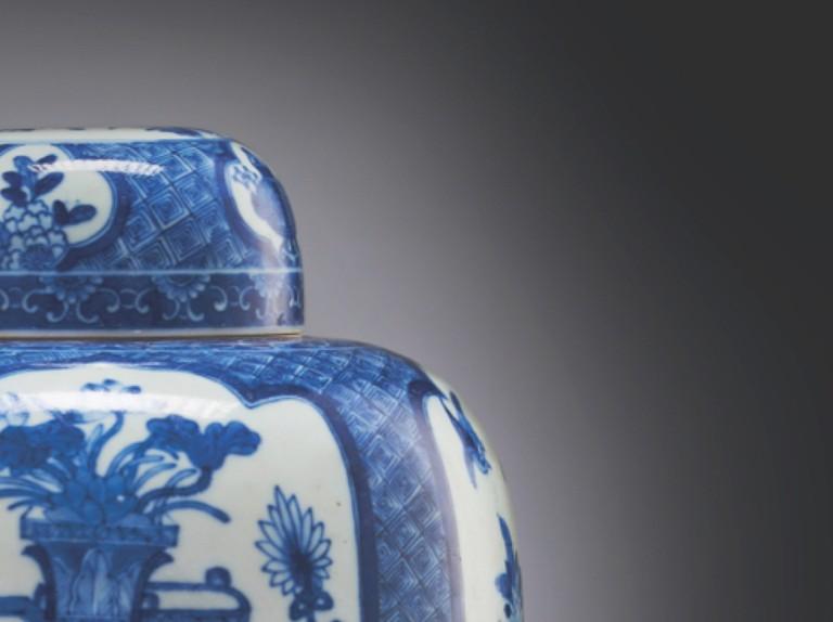 Chinese Ginger Jar, Blue And White Ginger Jar Lamps Uk