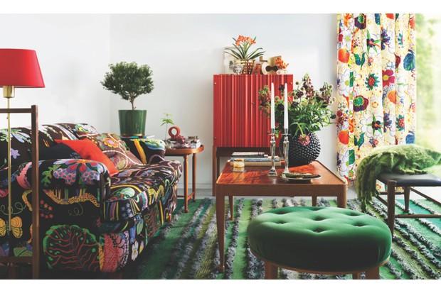 Svenskt Tenn Autumnal living room