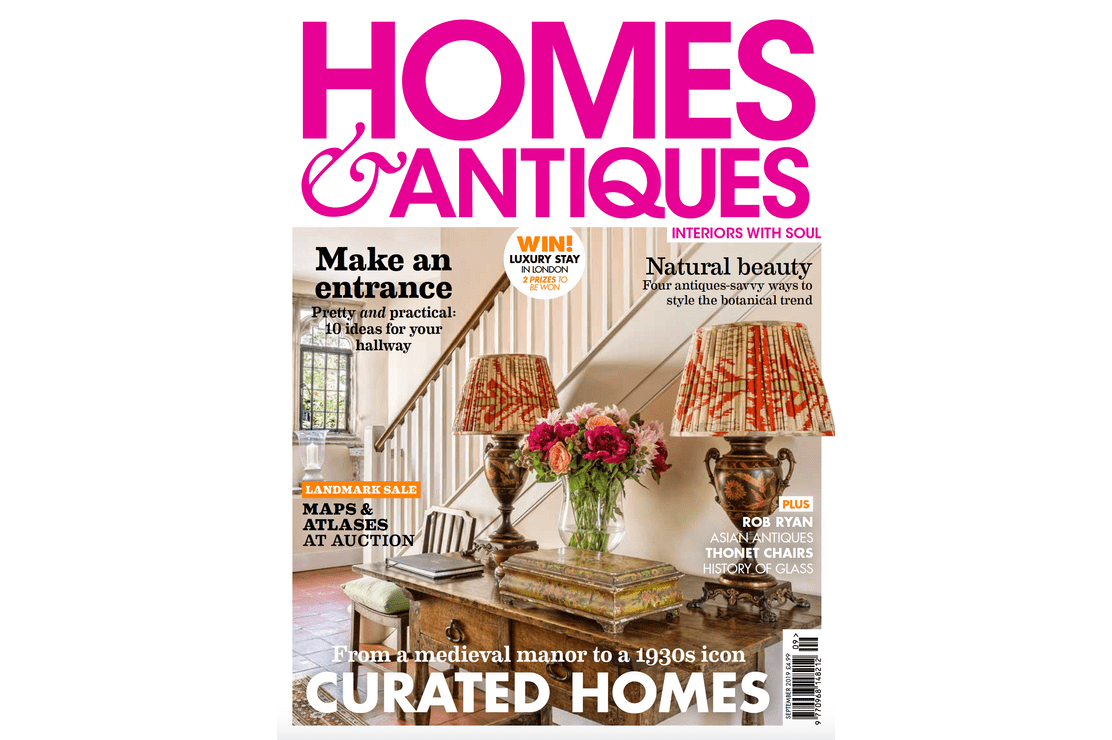 Homes & Antiques September Issue