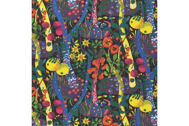 Frank's first textile design