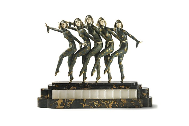 TOP 4_SOTHEBYS_Les Girls by Demeter Chiparus