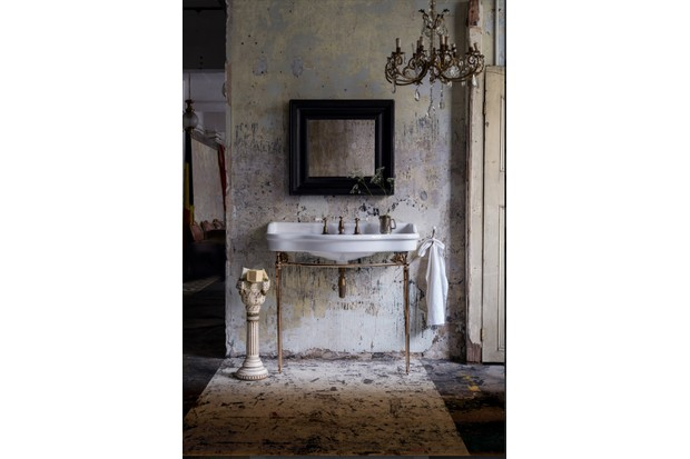 The Empress Console on Frame is an elegant addition to any bathroom, £2,100, Catchpole & Rye.