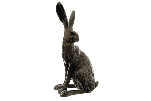 This bronze resin hare sculpture was originally designed by Paul Jenkins and has been recreated for the National Trust using a resin and bronze mix to make it affordable. Howard Hare, £90, National Trust Shop.
