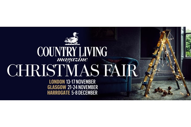 Win a pair of tickets to the Country Living Magazine Christmas Fair