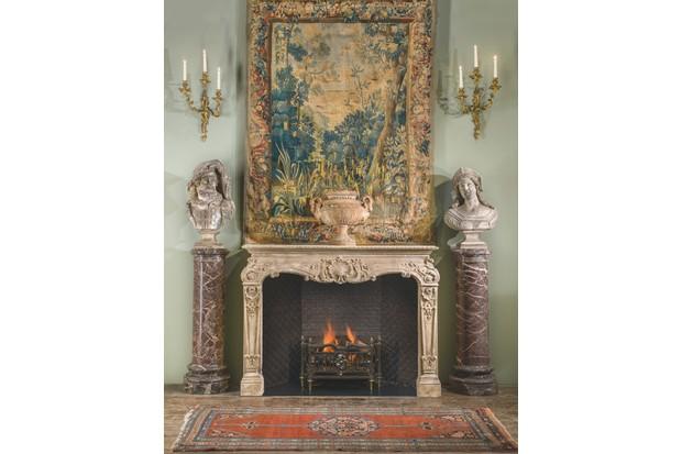 Louis XV Rococo fireplace surround, £27,000 (plus VAT), Westland London