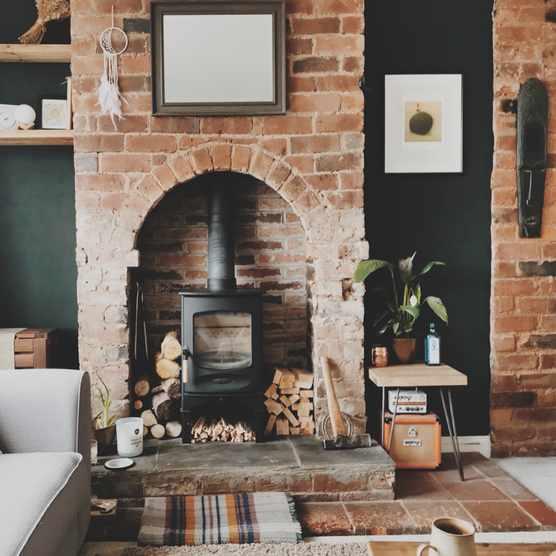 C-Four wood-burning stove, from £1,002, Charnwood