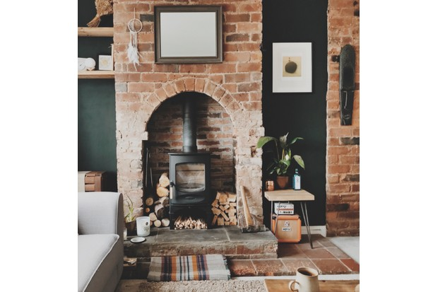 C-Four wood-burning stove, from £1,002, Charnwood