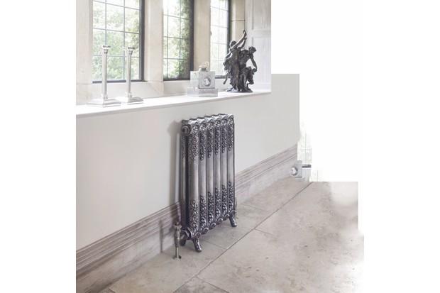 Restored antique Rococo-style Beeston cast iron radiator, £720 (inc VAT), Ribble Radiators