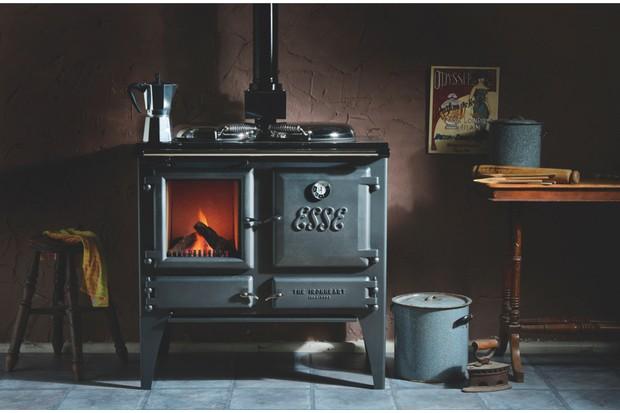 Esse Ironheart wood-burning stovecooker, £4,260 (inc VAT), Direct Stoves