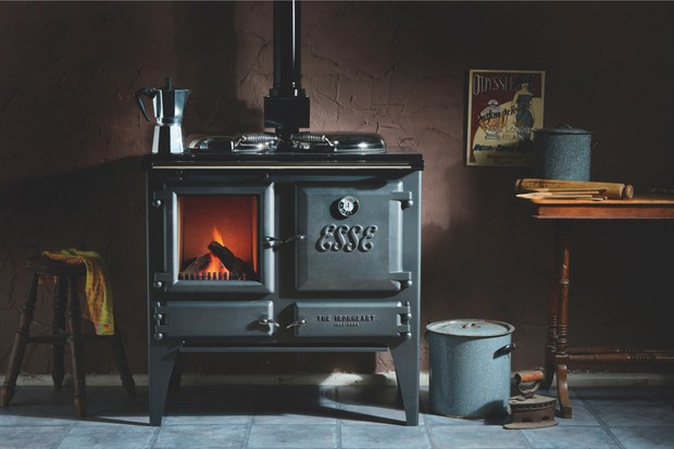 Esse Ironheart wood-burning stovecooker, £4,260 (inc VAT), Direct Stoves