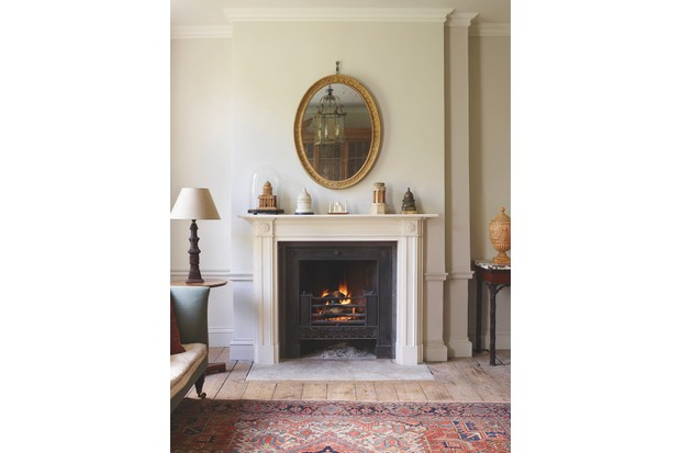 Clarence marble fire surround, £3,400 (plus VAT), Jamb