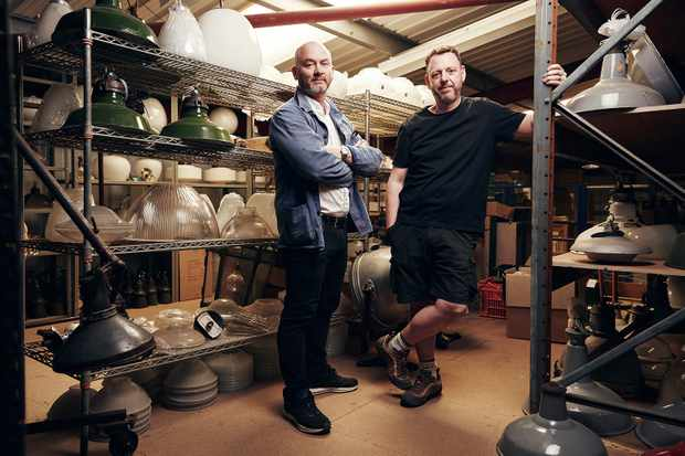 Salvage Hunters Drew Pritchard and Tee John