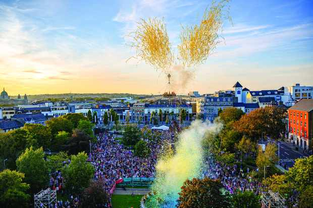 Celebrations in Galway, the European Capital of Culture 2020