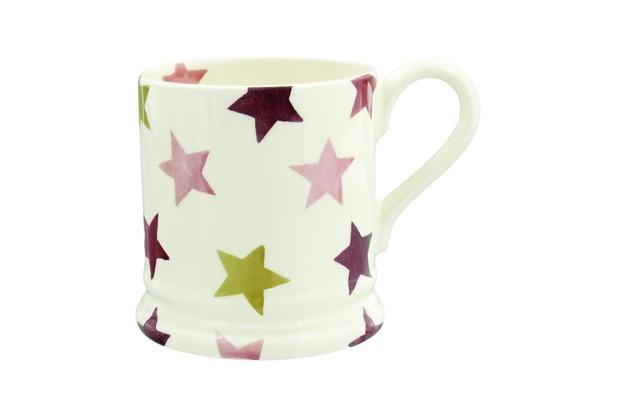 Emma Bridgewater Pink & Gold stars mug