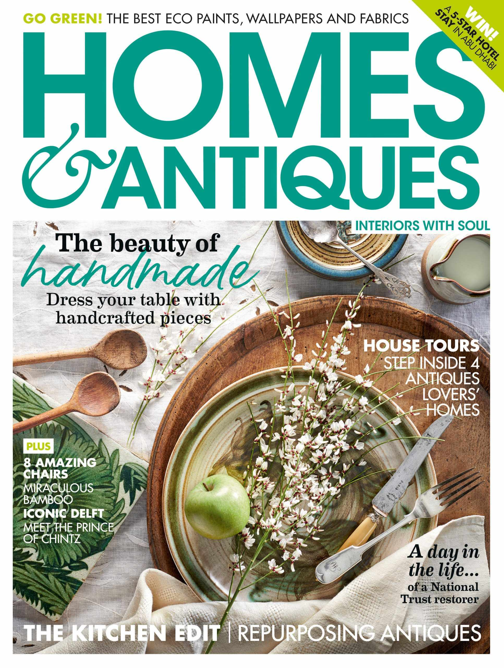 Homes & Antiques April 2020 cover