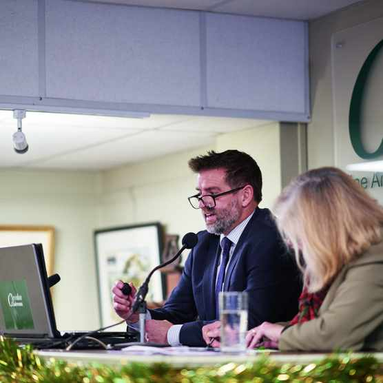 Auctioneers at Clevedon Salesroom