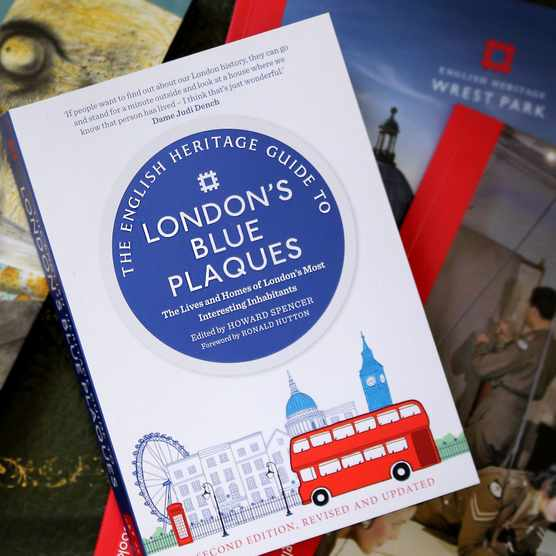 The English Heritage Guide to London's Blue Plaques, £17.99, English Heritage Shop