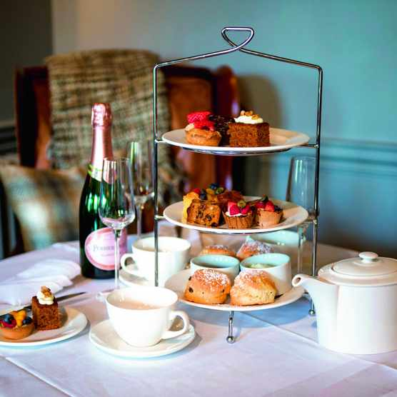 The Greenhouse Spa at The Elms Hotel is the perfect spot to unwind - did someone say tea and cake?