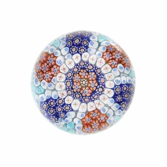 This exceptional Baccarat paperweight c1850 sold at Bonhams in 2018 for £8,750.