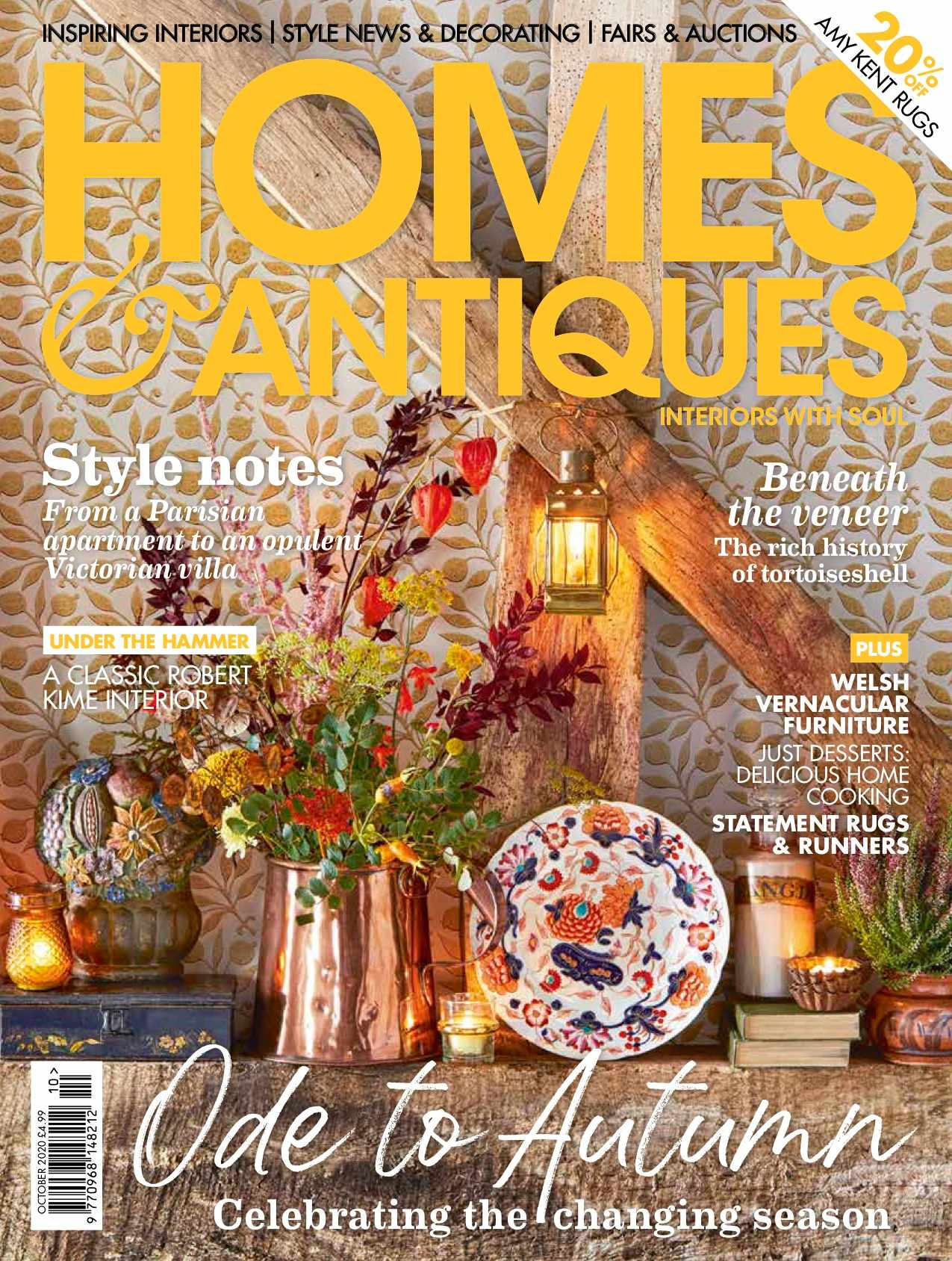 Homes & Antiques - October 2020 cover