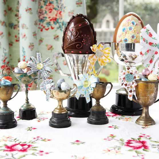 The best Easter eggs to buy this year. Photography by Rachel Whiting, styling by Kiera Buckley-Jones.